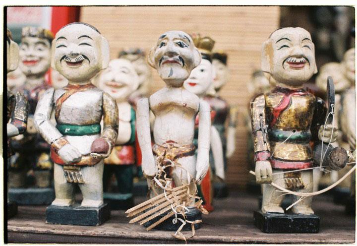 Vietnamese puppets