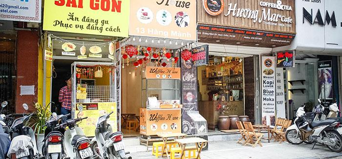 Huongmai Cafe   Best shopping streets of Hanoi Old Quarter